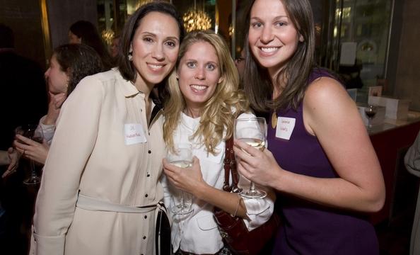 Washingtonian Bride & Groom Editor Jill Judson Neal, Hillary Francis of Special Events at Union Station, and Washingtonian's Vanessa Schutz