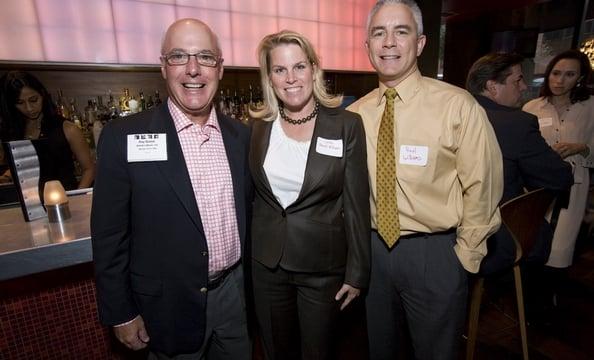Ray Bialek of Bialek's Music, Washingtonian President & Publisher Cathy Merrill Williams & husband, Paul Williams