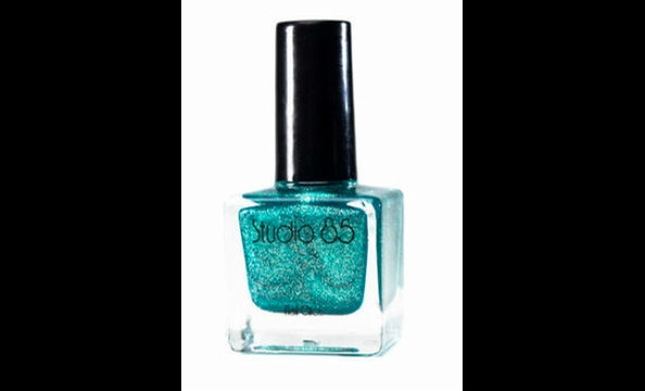 This glittery turquoise reminds Burriss of the girls who use the the slang term.