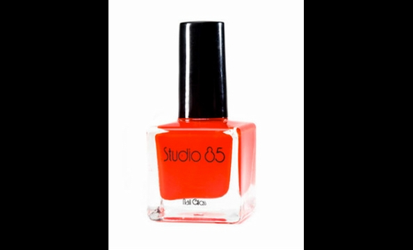 This vibrant hue is reminiscent of the sweet and tangy BBQ sauce the sisters pour over carryout food.