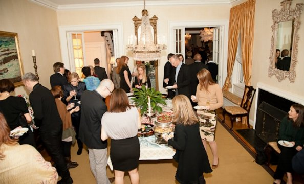 Inside Juleanna Glover's Holiday Party