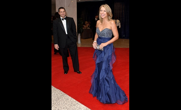 Outside the White House Correspondents' Dinner
