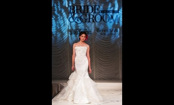 Unveiled 2012 Wedding Showcase, Reem Acra Runway Show
