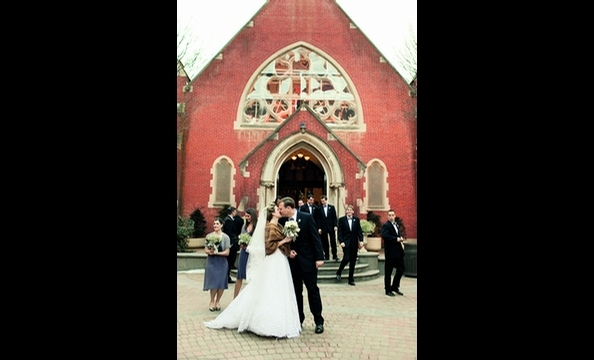 Real Weddings: Marguerite Dorment & Kyle McNickle
