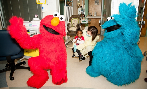 """Sesame Street"" at Georgetown University Hospital"