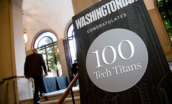 The Washingtonian's Tech Titans Party at the Freer Gallery
