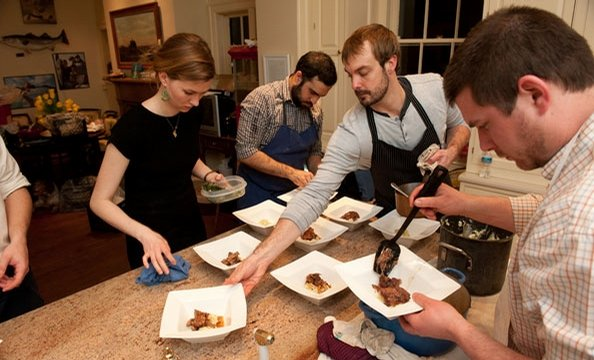 Sunday Supper at the Nixons': Feast for a Cause