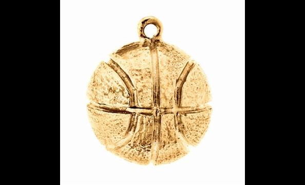 If getting kids active is more your style, this basketball charm is a perfect pick. PeacePlayers International (peaceplayersintl.org) assembles basketball teams in communities with histories of cultural conflicts—including in Israel, Northern Ireland, and