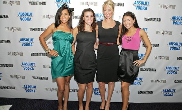 Amaya Henry, Leah Schwartz, Alison Love, and Elizabeth Rowan.