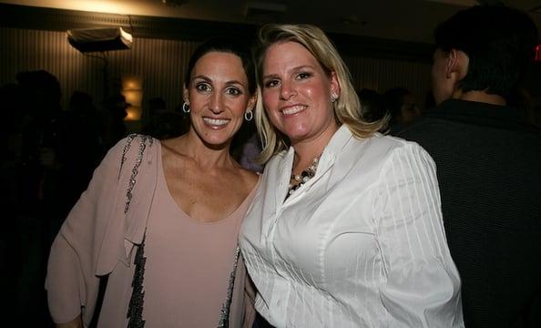 Jennifer Haber and Catherine Williams.