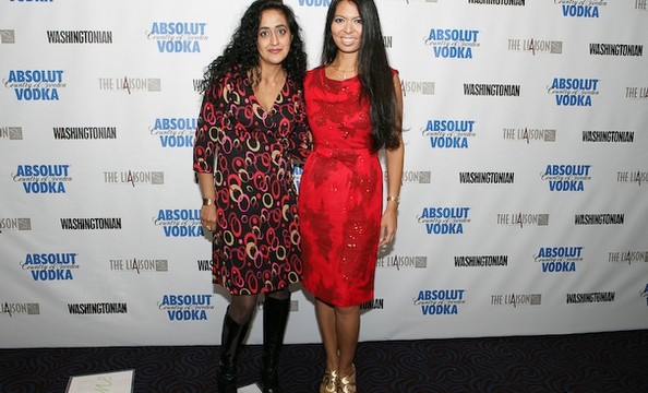 Roshanak Ameli-Tehrani and Christina Sevilla.