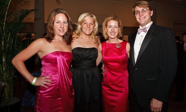Jamie Baron, Katherine Brazauskas, Emily Thaler and Joe Brazauskas.