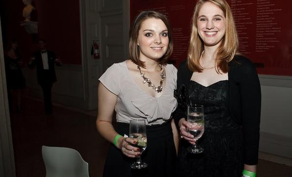 Mary Holloway and Sarah Tomlin.