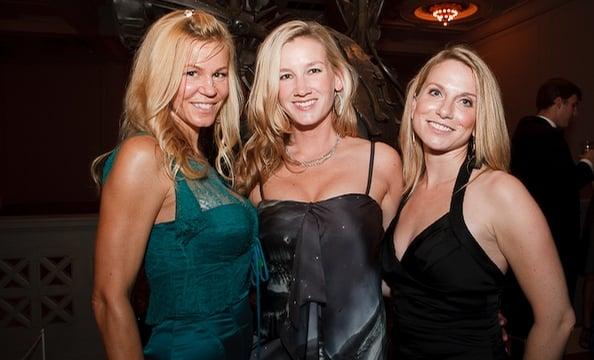 Andrea Johnson, Ellen Grantham and Alaina Breitberg.