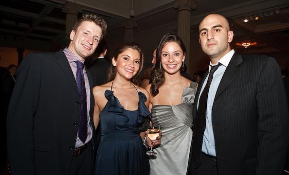 Michael Porticelli, Laura Merola, Barabara Merola and Aram Taghavi.
