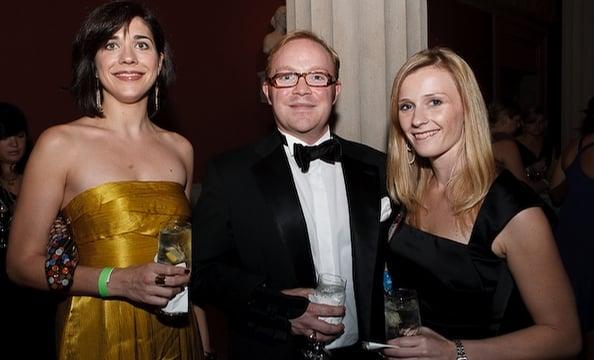 Lea Gessman, Matt Donohue and Alison Chappell.