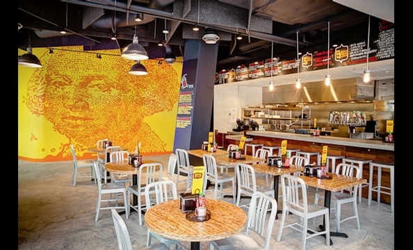 The PassionFood folks open a burger joint and upscale American dining room under one roof.