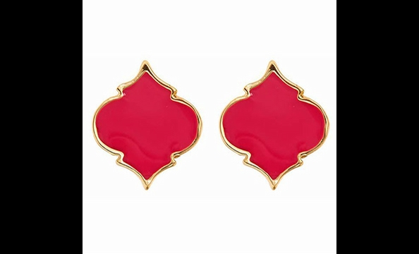 Enamel spade earrings, $25 at Fornash (the Shops at Georgetown Park, 202-338-07740)