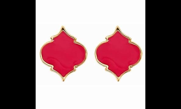Enamel spade earrings, $25 at Fornash (the Shops at Georgetown Park, 202-338-07740)