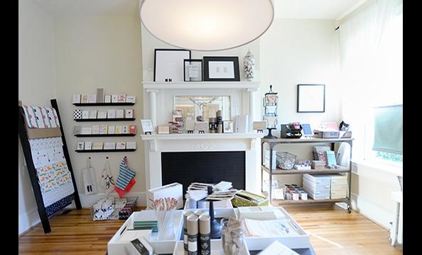 Fifteen/Eleven: Alexandria's New Paper Goods Store