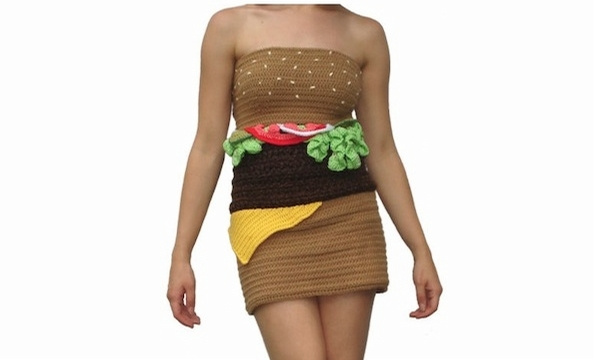 """Sexy"" Halloween costumes inspired by food."