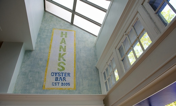 A Peek Inside the New Lounge at Hank's Oyster Bar