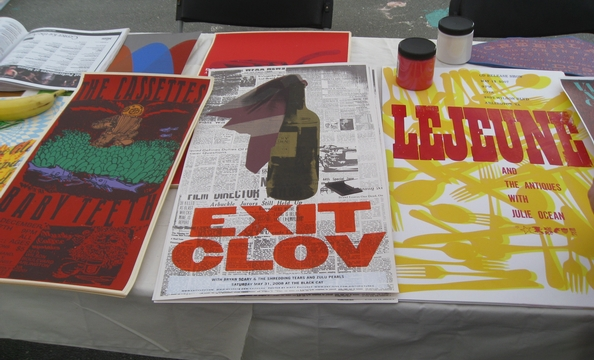 Hand-screened graphic design from Dirty Pictures.
