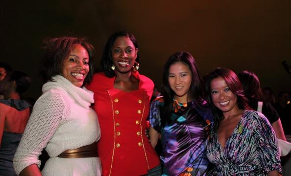 Adra Williams, Kadrieka Maiden, Donna Lee, and Laura Carlson.
