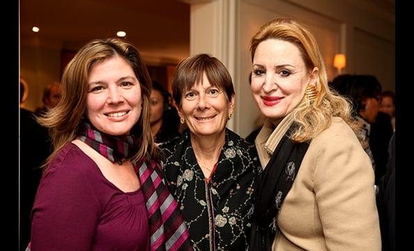 Helen Thomas's Book Party