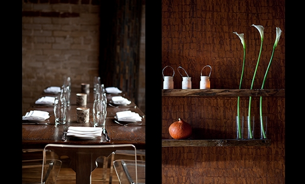 "At downstairs dining room Birch & Barley, chef Kyle Bailey serves a menu he describes as """"urban American melting pot."""
