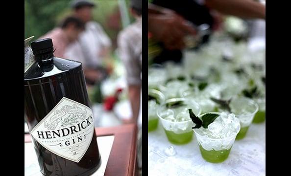 Hendrick's Gin cocktails.