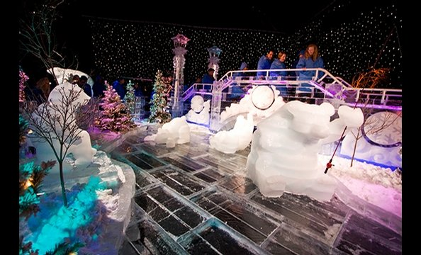 Christmas on the Potomac and ICE! at Gaylord National