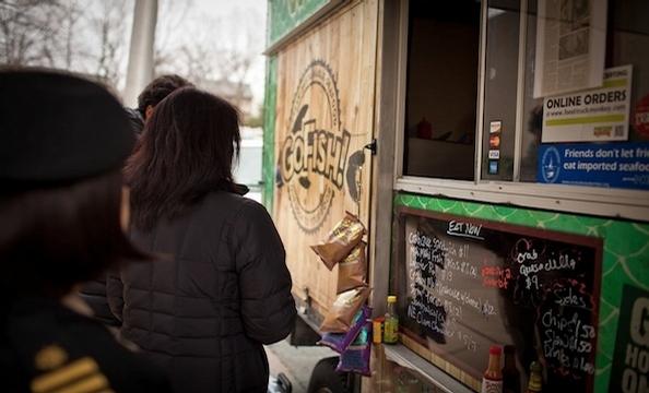 Meet the Food Trucks of Montgomery County: Go Fish