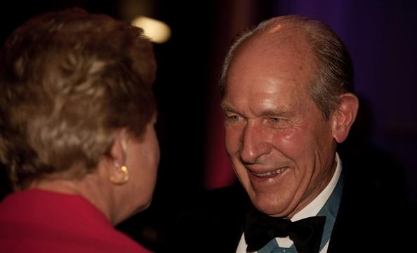Medal of Honor recipient Tom Hudner.
