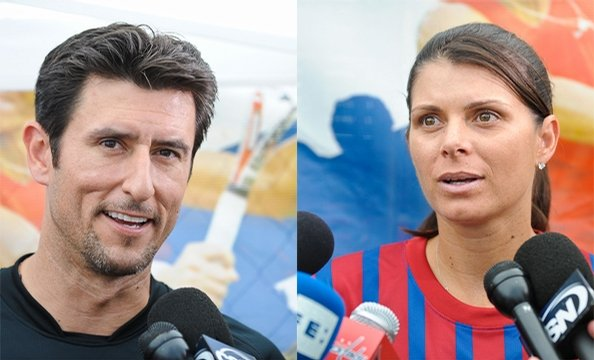 Mia Hamm and Nomar Garciaparra's 4th Annual Celebrity Soccer Challenge