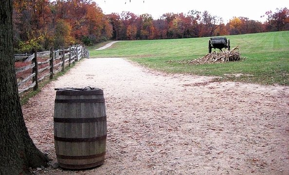 Fall at Mount Vernon.