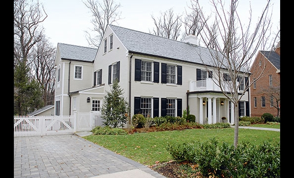 Location: Wesley Heights DC. Price: $3.2 million. Details: Seven bedrooms, nine baths, and three-car garage. A short sale, the house originally listed for $5.5 million. O'Donnell and Tracy also sold two homes this year: a four-bedroom Colonial in DC's Wes