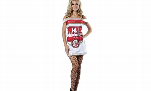 """""""Sexy"""" Halloween costumes inspired by food."""
