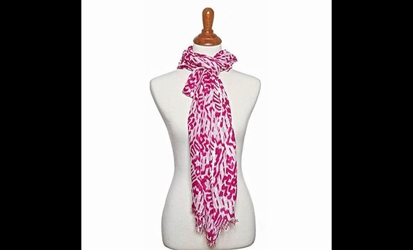 Bali scarf, $25 at Fornash (the Shops at Georgetown Park, 202-338-07740)