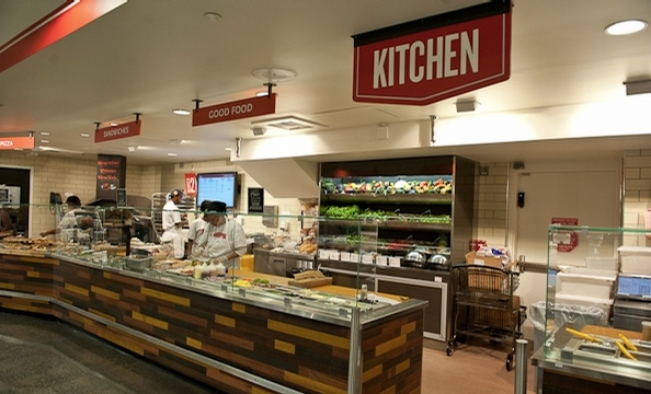 We check out the lunch options at the new Foggy Bottom Whole Foods.