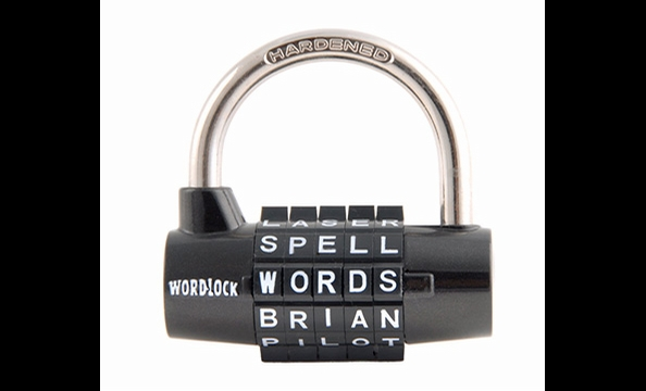 Eliminate some of the guesswork from those pesky five-digit gym locks with a word-based padlock. Feeling cheeky? Preset it with the word of your choice, such as your name. That way, the recipient will never forget whom to send the thank-you note to. Amazo
