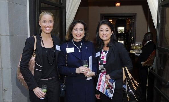 Carrie Harries, Denise Bode, Jennifer Ahn