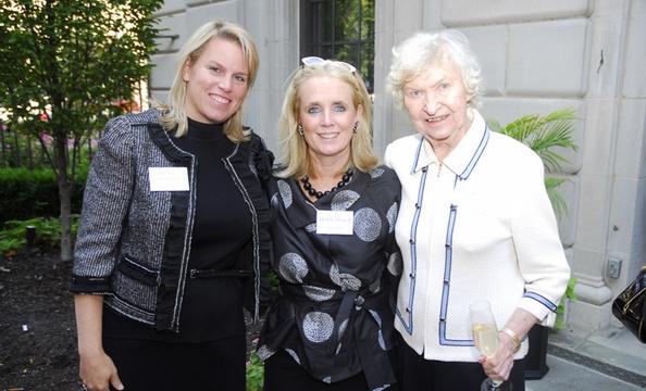 Cathy Merill Williams, Debbie Dingell, Ellie Merrill