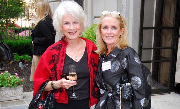 Dian Rehm and Debbie Dingle