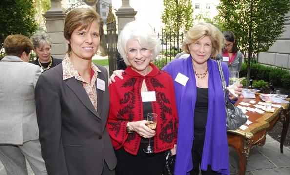 Carol Clayton, DIane Rehm, and Nina Totenberg