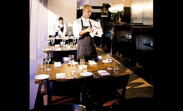 Againn, in dowtown DC and Rockville, puts a sophisticated spin on British pub fare.