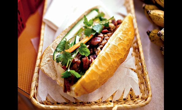The vietnamese subs called bahn mi are popping up at wine bars, Wolfgang Puck restaurants, and Whole Foods stores.