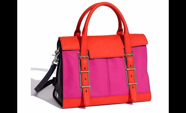 Botkier Eden Satchel, $595. Available at the Shoe Hive (125 S. Fairfax St., Alexandria; 703-548-7105)