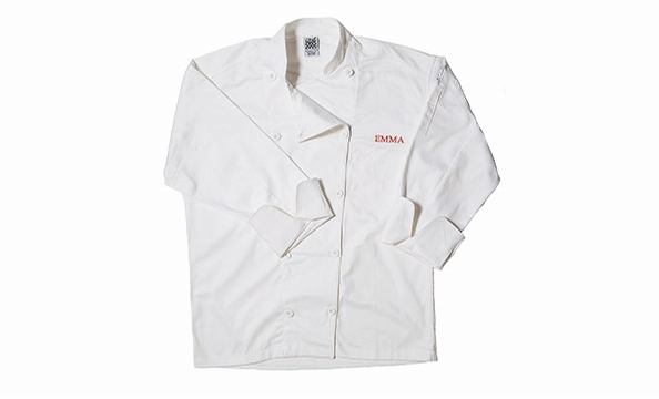 She'll look like a top chef in this cook's jacket, which can be personalized. Williams Sonoma, $59 to $69.