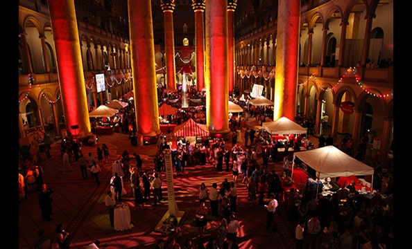 Washingtonian held its annual Best of Washington Party to benefit the Leukemia and Lymphoma Society on July 21 at the National Building Museum.